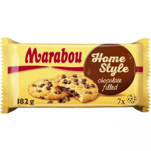 Cookies Homestyle Chocolate Filling - Marabou 182g