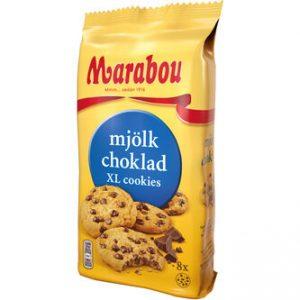 Cookies Mjölkchoklad - Marabou 184g