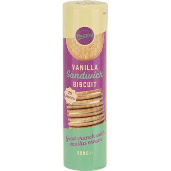 Sandwich Biscuit Vanilla - Dazzley 500g