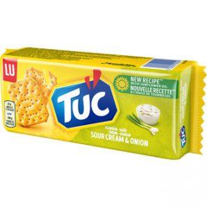 Tuc Sourcream & Onion - Lu 100g